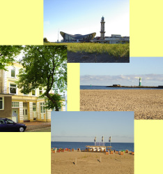 Warnesonne in Warnemünde